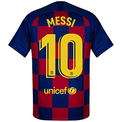 Nike Barcelona Home Messi 10 Euro Trikot 2019-2020, Herren, Multi, X-Large