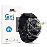 OOTSR [Lot de 4] Verre Trempé Protection D'écran pour Samsung Gear S3 Frontier/Classic, Films de Protection Écran pour...