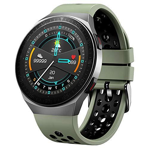 HDSJJD Reloj Inteligente, 8GB Reproductor De Música Independiente De Gran Capacidad 8GB Es Compatible con Bluetooth Call Smart Watch, Adecuado para Teléfonos Android Compatible con iPhone Samsung,B