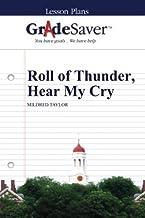 GradeSaver (TM) Lesson Plans: Roll of Thunder, Hear My Cry