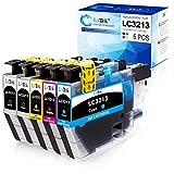 5 LxTek LC3213 Patronen Kompatibel für Brother LC3213 LC-3213 Druckerpatronen für Brother...
