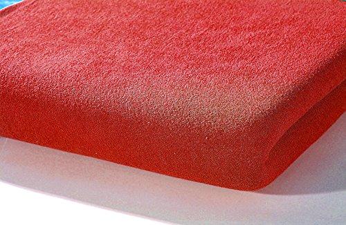 Alvi 93527 hoeslaken tricot, rood