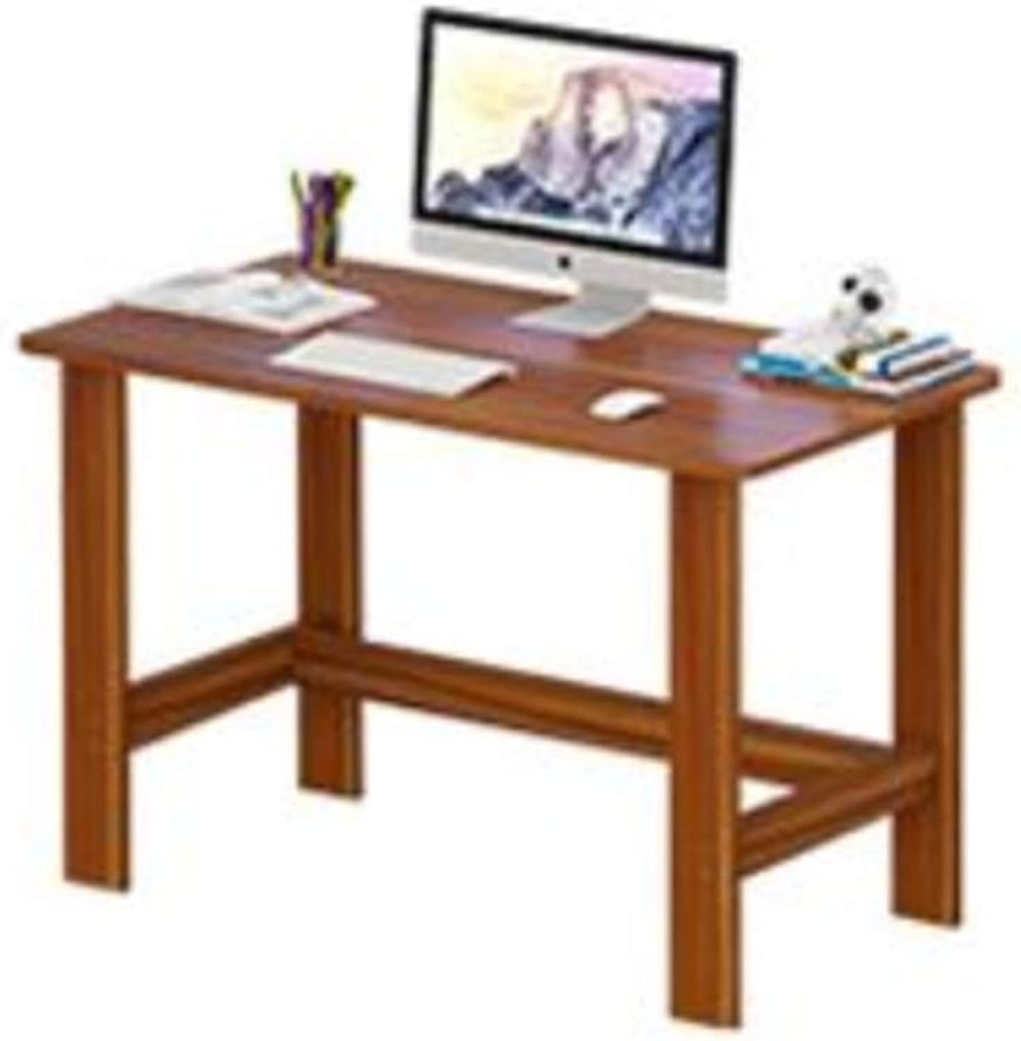 Wood Table Coffee Side Snack Table Solid Wooden Brown (Size   80  45  72CM)