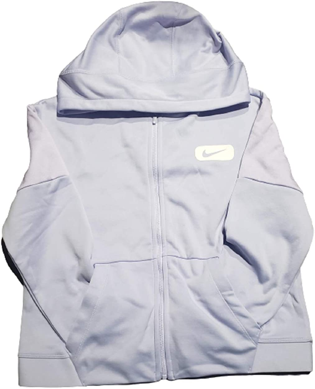 National uniform free shipping Nike Girl's Therma Zip Up Color Block Popularity L Lila BV2819-539 Hoodie