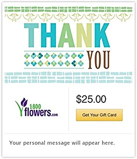 1-800 Flowers.com Gift Cards - E-mail Delivery