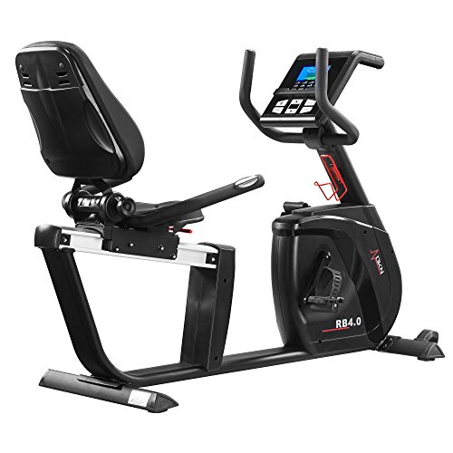 DKN RB-4i Recumbent Exercise Bike - Black
