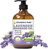 Lavender Massage Oil for Men and Women, Lavender Relaxation Massage Oil,Lavender Massage Oil for Romantic, Relaxing, Aromatic Massage Therapy