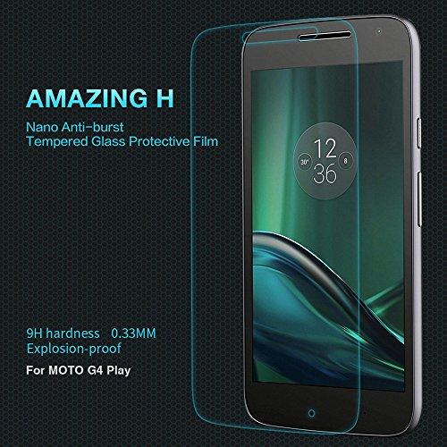 Nillkin Amazing H - Protector de pantalla cristal templado 9H para Motorola...