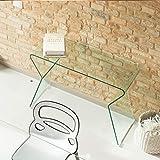 MaisonOutlet Consolle Smart Design in Cristallo curvato Spessore Sconto Online