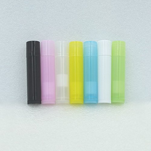 micoshop 10Stück 5ml Leere Behälter l68mm X D15mm Lippenbalsam Röhren Lippenstift Kappen...