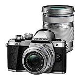 Olympus OM-D E-M10 Mark III + 14-42mm EZ + 40-150mm R MILC 16,1 MP 4/3' Live Mos Negro, Plata - Cámara Digital (16,1 MP, 4/3', Live Mos, 4K Ultra HD, Pantalla táctil, Negro, Plata)