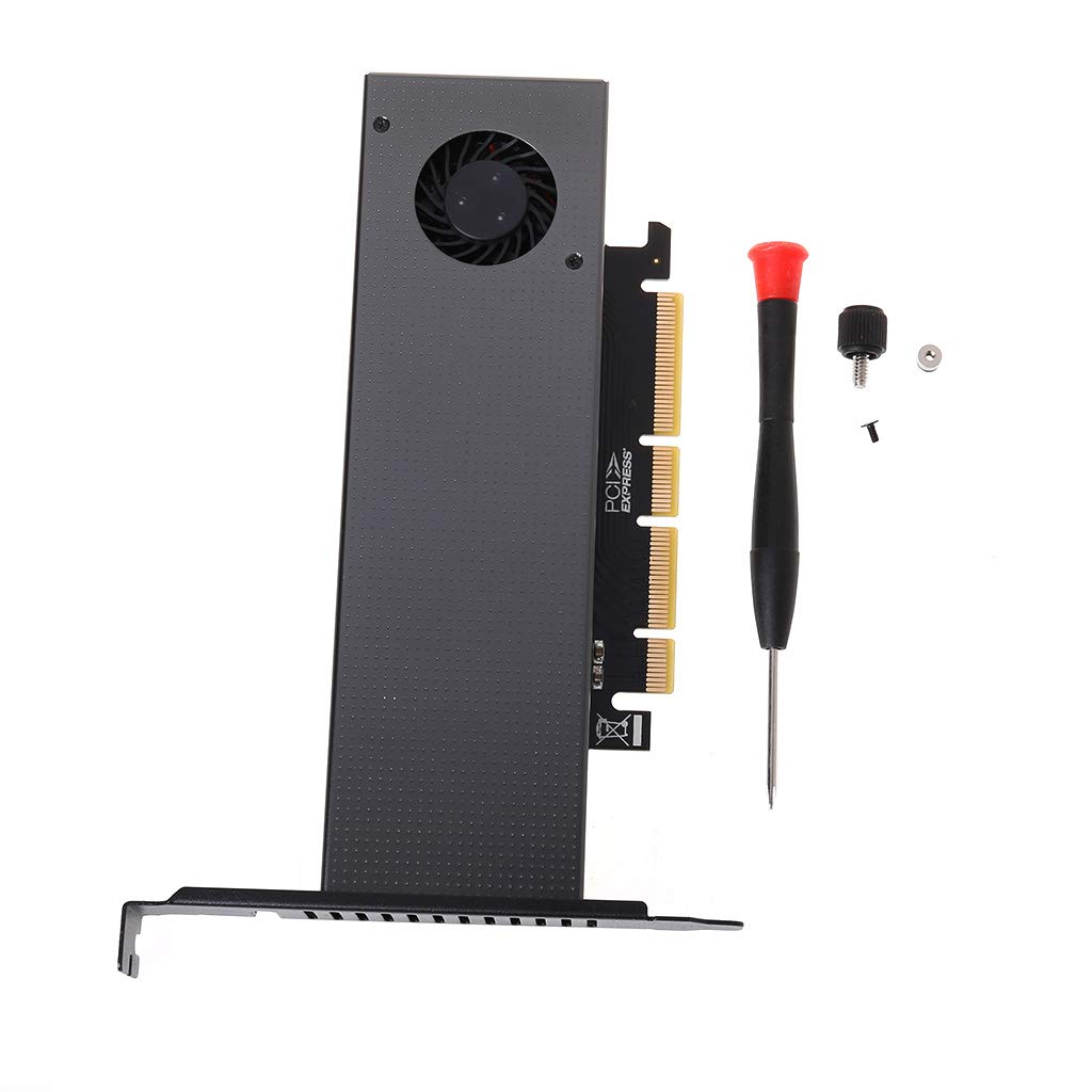 Itlovely M.2 NVMe Adapter to lowest price PCIE3.0 Turbo Discount mail order GEN3 M.3 Built-in Fan