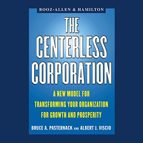 The Centerless Corporation audiobook cover art