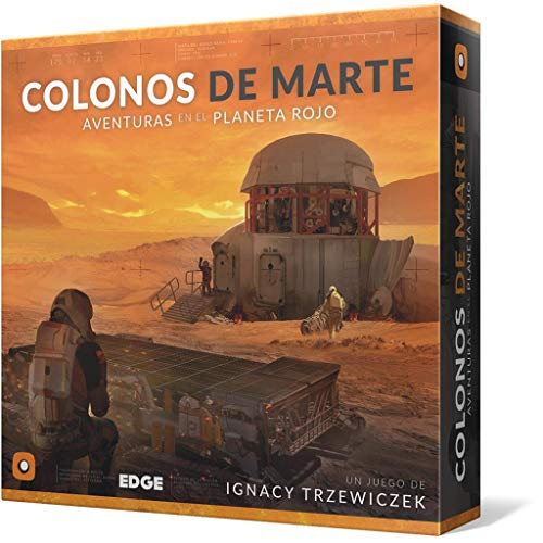 Edge Entertainment-Colonos De Marte-Español