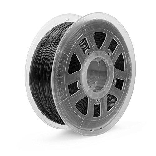 Gizmo Dorks - Filamento ABS para impresoras 3D (1,75 mm, 1 kg), color negro
