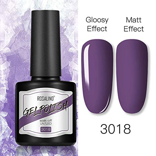 Qiopes 40 couleurs mode nail art polonais 8 ml effet mat manucure polonais gel Vernis à ongles