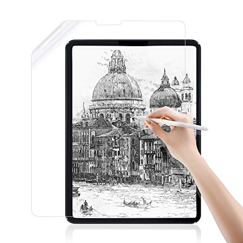 "Jelly Comb Paper Screen protector for iPad Air 4 10.9"",iPad Pro 11 2020&2018, Like Paper Feel Screen Protector for iPad Pro 11 inch, iPad Air 4th Gen, Compatible with Apple Pencil"