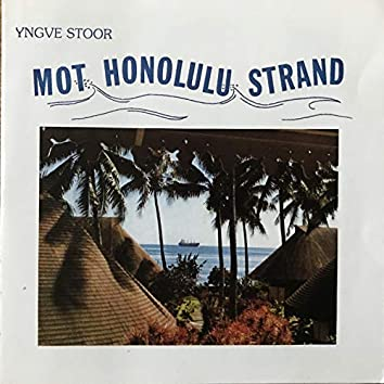 Mot Honolulu strand