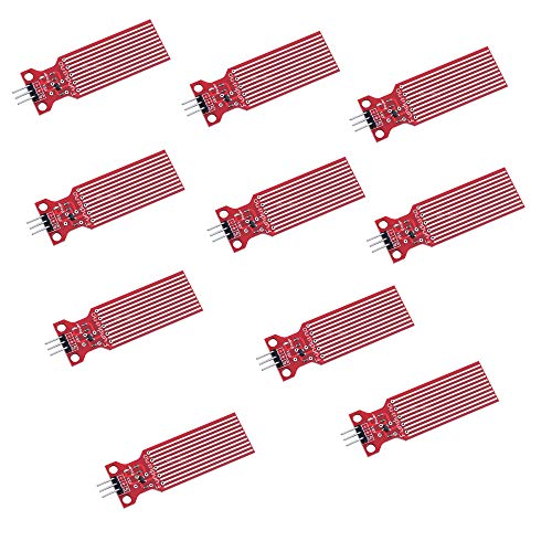 Rain Water Level Sensor Module Depth of Detection Liquid Surface Height for Arduino(10pcs)