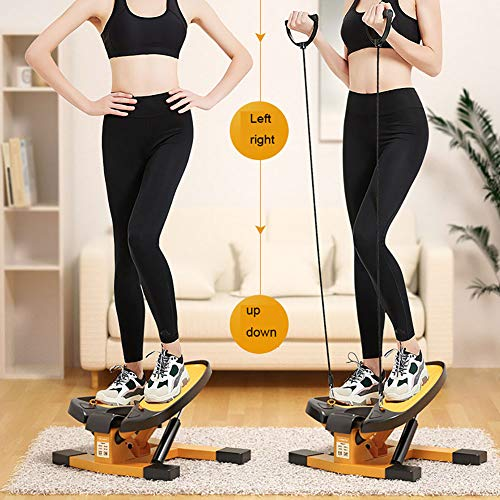 Tensism Stepper,Cardio Fitness Stepper,Up-Down Stepper,for Beginners and Advanced Users,Small and Compact,Home Gym Equipment A 6