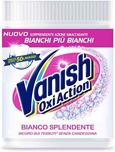 Vanish Oxi Action Polvere Bianca, Smacchiatore per Capi Bianchi 1 Kg