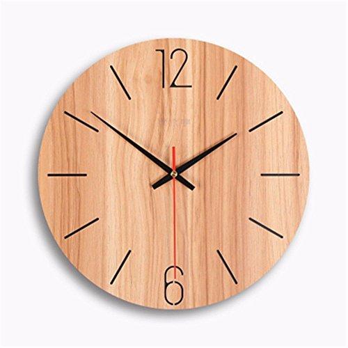 WERLM eenvoudig aan de muur bevestigde tafel minimalistisch, stijlvolle creatieve klok is een familie restaurant keuken, kantoor, scholen zijn voor elke kamer, 12 inch ideaal