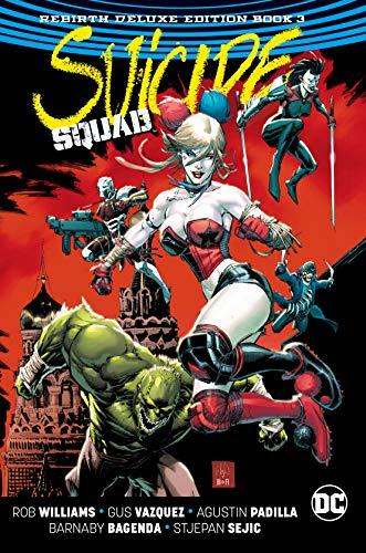 Suicide Squad Rebirth 3: The Rebirth Deluxe Edition Book 3