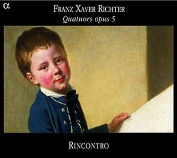 Richter: Quatuors opus 5