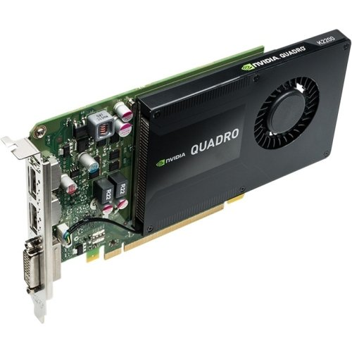 Pny - Nvidia Quadro K2200 Graphics Card Quadro K2200 4 Gb Gddr5 Pcie 2.0 X16 Dvi, 2 X Displayport 'Product Category: Computer Components/Video Cards & Adapters'