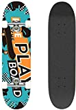 Zoom IMG-1 hikole skateboard completo pro 31