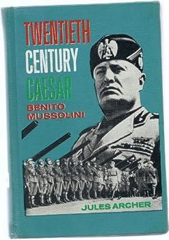 Hardcover Twentieth Century Caesar Benito Mussolini Book