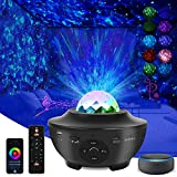 Star Projector Galaxy Projector,Star Light Projector for Bedroom with Music Speaker,Skylight Night Light for Kids and Adults,Work with Alexa & Google Assistant