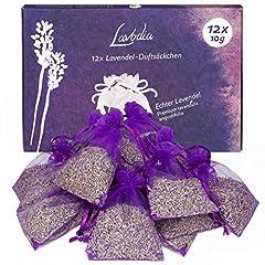 12x Lavendelsäckchen mit Premium Lavendelblüten