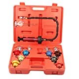PMD Products 14pc Radiator Pump Pressure Leak Tester Checker Kit Aluminum Adapters w/Case