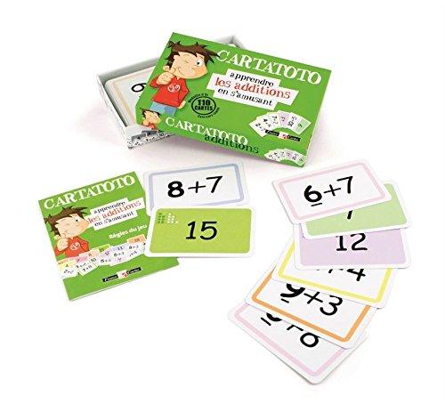 Cayro - Cartatoto Sumas - Juego Educativo Infantil - Desarrollo de Habilidades matemáticas - Juego de Cartas (410001)
