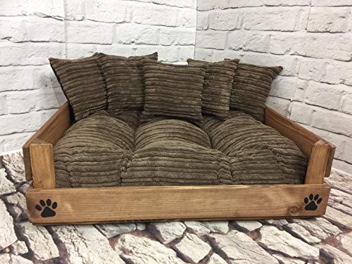 Generic Haustierbett aus Holz in 4 Größen