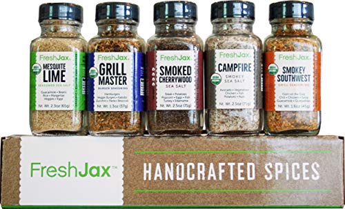 FreshJax Smoked Spices Gift Set, (Set of 5)