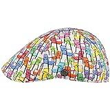 Stetson Texas BBQ Chairs Flatcap Schirmmütze Schiebermütze Baumwollcap Herren - mit Schirm Frühling-Sommer - L (58-59 cm) bunt