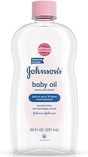 Johnson's Baby Oil, 20 Fl. Oz(Pack of 2)