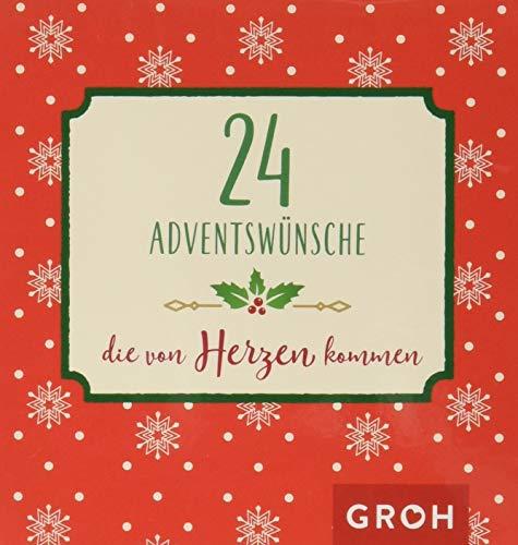 24 Adventswünsche, die von Herzen kommen