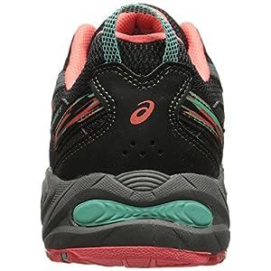 ASICS Women's Gel-venture 5 Running Shoe, Black/Aqua Mint/Flash Coral, 8.5 M US
