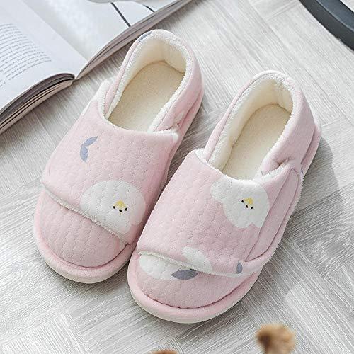 Losse oude schoenen,Wintertas met opsluitschoenen, leuke moederschapsslofjes-36_Pink vredesduif,Plantar Fasciitis sneakers Air Shoe