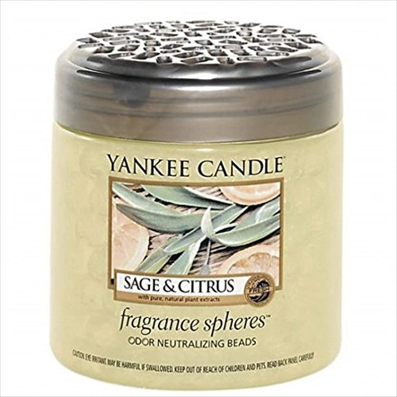政府封建真空YANKEE CANDLE(ヤンキーキャンドル) YANKEE CANDLE フレグランスビーズ 「 セージ&シトラス 」(K3300505)