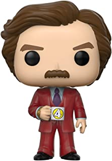 Funko POP! Movies: Anchorman The Legend of Ron Burgundy - Ron Burgundy in Red Suit #948 SDCC 2020 Shared Summer Convention...