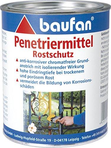 Baufan Penetriermittel, Rostschutz für Eisen und Stahl, 750 ml