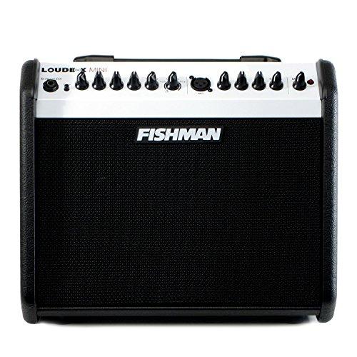 Fishman Loudbox Mini Limited Edition Black/White Acoustic Amplifier (LE Black and White 60 Watt Two Way)