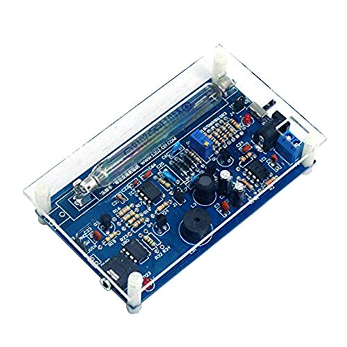 DDIY Finished Geiger Counter Electronics Kit Welding Project Practice Kit Nuclear Radiation Detector Miller Tube Assembly Finished Product