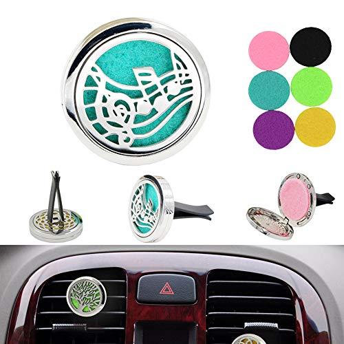 EDtara Cadeau voor mannen, auto luchtverfrisser auto parfum clip autodecoratie auto clip geur parfum auto diffuser - auto ornamenten