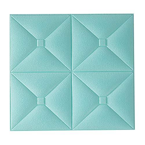 Savlot papierbehang, schuimstof, doe-het-zelf muurstickers, baksteen-imitatie, kamer, decoratie, behang, zelfklevend, waterdicht, voor woonkamer, keuken, tv, achtergrond