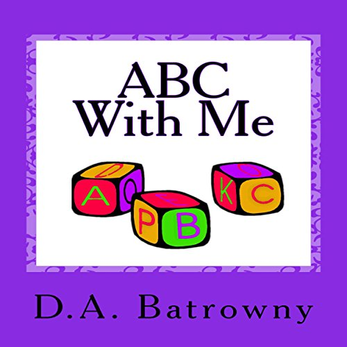 ABC with Me audiobook cover art